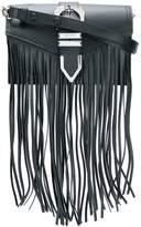 Versus fringed shoulder bag