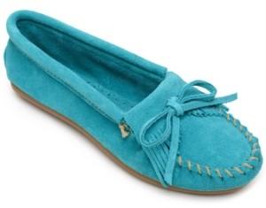 Minnetonka Kilty Moccasins Women's Shoes