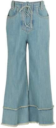 Miu Miu Studded jeans
