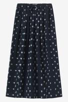 Toast Ikat Cotton Skirt