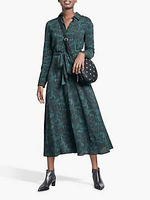 Hush Sophie Camo Midi Shirt Dress, Dash Camo