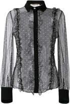 Piccione Piccione Piccione.Piccione lace embroidered blouse