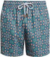RETROMARINE Roulettes-print swim shorts