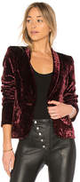 James Jeans Tuxedo Jacket in Wine. - size L (also in M,S,XS)