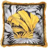 Versace Depalma Embroidered Silk Accent Pillow
