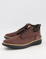 Thumbnail for your product : Timberland cross mark chukka boots in brown