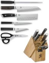 Shun 7-Piece Mixed Knife Block Set