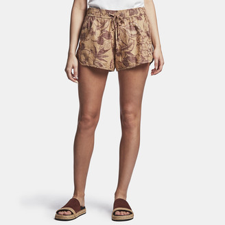 James Perse Floral Print Dolphin Short