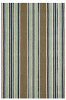 Dash & Albert 'Blue Heron' Stripe Rug