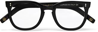 Kingsman Cutler and Gross D-Frame Tortoiseshell Acetate Optical Glasses - Men - Black