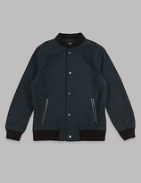 Autograph Pure Cotton Bomber Jacket (3-14 Years)