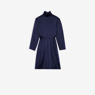 Balenciaga Back To Front Trench Dress
