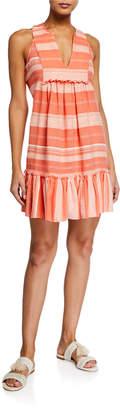 Lemlem Birtukan Striped Bib Dress