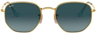 Ray-Ban Hexagonal-Frame Sunglasses