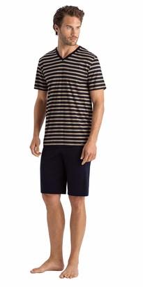 Hanro Men's Madu Short Sleeve Pajama Set