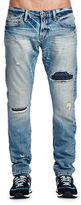 Cult of Individuality Distressed Washed Jeans