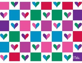 Bob Mackie Flatweave Purple/Pink/Green Rug