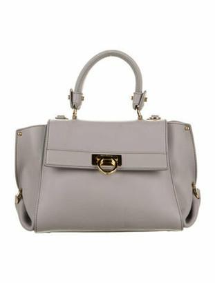 Salvatore Ferragamo Sofia Handle Bag Gold