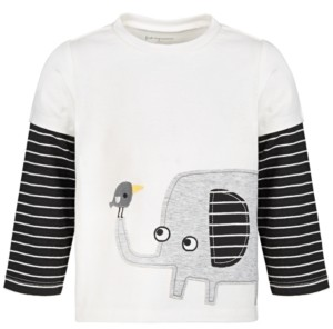 First Impressions Baby Boys Elephant Cotton T-Shirt, Created for Macy's