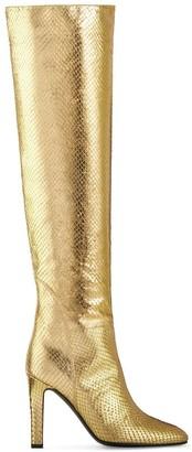 Giuseppe Zanotti Metallic Knee-Length Boots