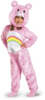 Disguise Cheer Bear Deluxe Plush Costume (Baby & Toddler Girls)