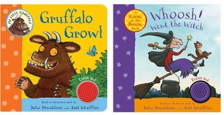 Macmillan Whoosh Went The Witch & Gruffalo Growl Children's Book, Pack of 2