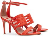 Reiss Ravenna - Strappy Open-toe Shoes in Red, Womens