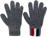 Moncler logo gloves - kids - Virgin Wool - 16.5 cm