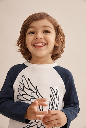 Country Road Eagle Embroidered T-Shirt