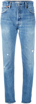 RE/DONE distressed jeans - women - Cotton - 27