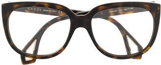 Gucci Double-Framed Glasses