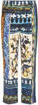 Alberta Ferretti Printed Skinny Pants