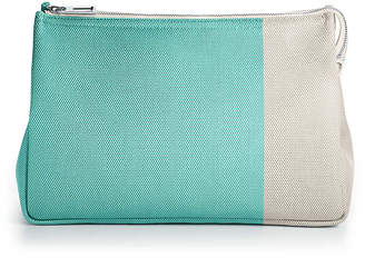 Tiffany & Co. Color Block cosmetic case in canvas, large