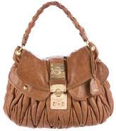 Miu Miu Leather Coffer Bag