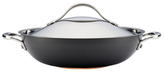 "Anolon 12"" Nouvelle Hard Anodized Non-Stick Covered Wok"