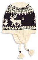 Ralph Lauren Toddler's & Little Boy's Reindeer Earflap Hat