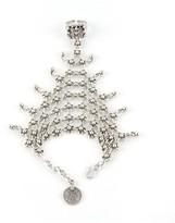 Natalie B Jewelry Queens Veil Handpiece in SIlver