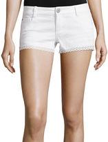 Vanilla Star Crochet-Trim Shorts