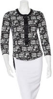 Thomas Wylde High-Low Printed Top