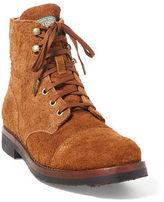 Polo Ralph Lauren Enville Suede Cap-Toe Boot