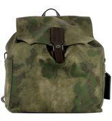 Golden Goose Deluxe Brand Green Fabric Backpack