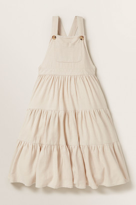 Seed Heritage Tiered Linen Pinafore