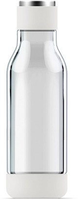 Asobu Inner Peace Glass Water Bottle - White