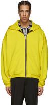 Haider Ackermann Yellow Zip-up Hoodie