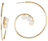 Yochi Let It Shine Imitation Pearl Earrings