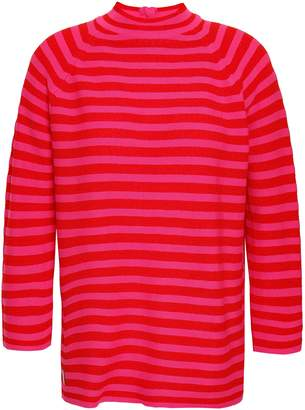 Marc Jacobs Striped Cotton-blend Sweater