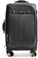"GUESS La Vida Logo Black 21"" 8-Wheel Spinner Suitcase"
