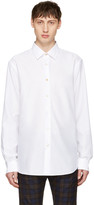 Paul Smith White Charm Button Shirt