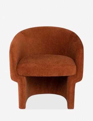 Lulu & Georgia Pomona Accent Chair, Terracotta