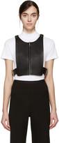 Fleet Ilya Black Leather Box Top Harness